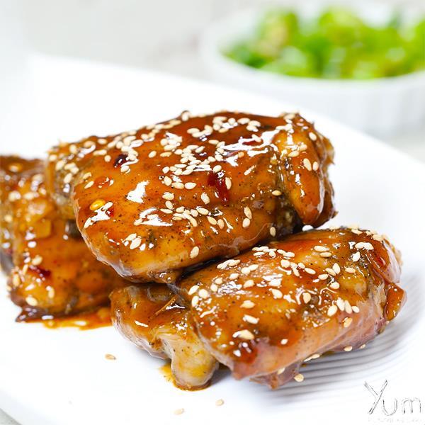 Firecracker Chicken Thighs: Quick, Easy, Free Veg NonVeg Recipes Videos